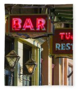 Tujague's Bar And Restaurant Fleece Blanket