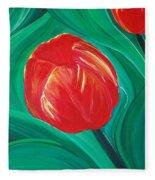 Tulip Diva By Jrr Fleece Blanket