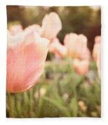 Tulip Dreams Fleece Blanket