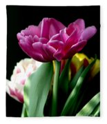 Tulip For Easter Fleece Blanket