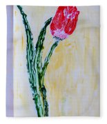 Tulip For You Fleece Blanket