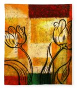 Tulip Fleece Blanket