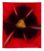 Tulip Macro 1 Fleece Blanket