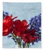 Tulip Macro 2 Fleece Blanket
