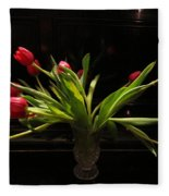 Tulip Mania 17 Fleece Blanket