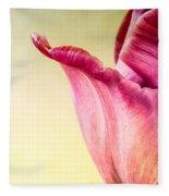 Tulip Petal Fleece Blanket