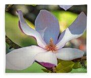 Tulip Tree Bloom Fleece Blanket