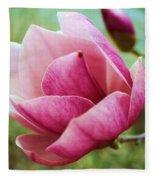 Tulip Tree In Bloom Fleece Blanket
