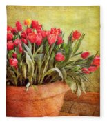 Tulip Tumble Fleece Blanket