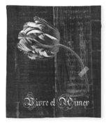 Tulip - Vivre Et Aimer S10t04t Fleece Blanket
