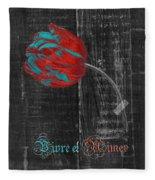 Tulip - Vivre Et Aimer S11ct04t Fleece Blanket