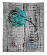 Tulip - Vivre Et Aimer S12ab4t Fleece Blanket