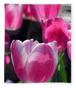 Tulips - Affectionately Yours 02 Fleece Blanket