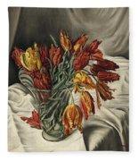 Tulips Fleece Blanket