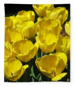 Tulips - Field With Love 17 Fleece Blanket