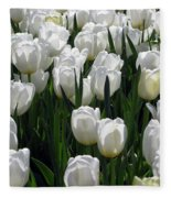 Tulips - Field With Love 19 Fleece Blanket
