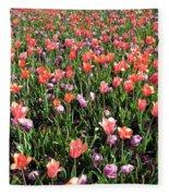 Tulips - Field With Love 55 Fleece Blanket