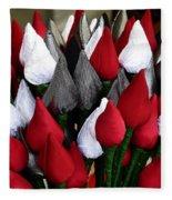 Tulips For Sale Fleece Blanket