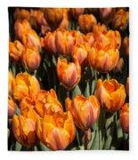 Tulips Galore  Fleece Blanket
