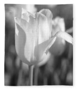 Tulips - Infrared 09 Fleece Blanket