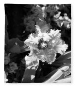 Tulips - Infrared 24 Fleece Blanket
