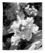 Tulips - Infrared 25 Fleece Blanket