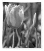 Tulips - Infrared 28 Fleece Blanket