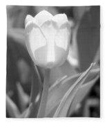 Tulips - Infrared 29 Fleece Blanket