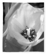 Tulips - Infrared 31 Fleece Blanket
