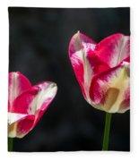 Tulips Of A Kind Fleece Blanket