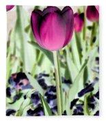 Tulips - Perfect Love - Photopower 2026 Fleece Blanket