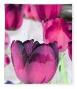 Tulips - Perfect Love - Photopower 2027 Fleece Blanket