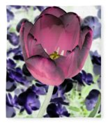 Tulips - Perfect Love - Photopower 2028 Fleece Blanket