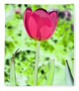 Tulips - Perfect Love - Photopower 2070 Fleece Blanket