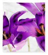 Tulips - Perfect Love - Photopower 2081 Fleece Blanket