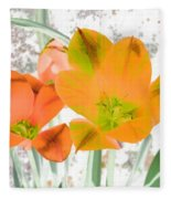 Tulips - Perfect Love - Photopower 2084 Fleece Blanket