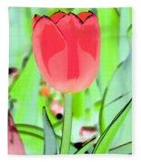 Tulips - Perfect Love - Photopower 2089 Fleece Blanket