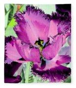 Tulips - Perfect Love - Photopower 2093 Fleece Blanket