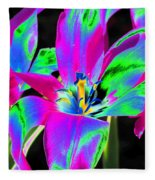Tulips - Perfect Love - Photopower 2175 Fleece Blanket