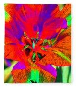 Tulips - Perfect Love - Photopower 2179 Fleece Blanket