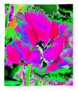Tulips - Perfect Love - Photopower 2183 Fleece Blanket