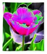 Tulips - Perfect Love - Photopower 2190 Fleece Blanket