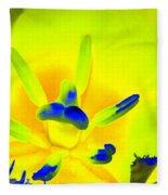 Tulips - Perfect Love - Photopower 2191 Fleece Blanket