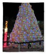 Tumbleweed Christmas Tree Fleece Blanket