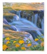 Tumbling Waters Fleece Blanket