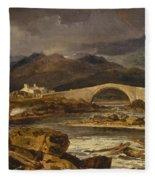 Tummel Bridge Fleece Blanket