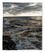 Tumultious Waters Fleece Blanket