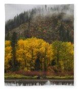 Tumwater Canyon Fleece Blanket