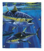 Tuna Blitz Off0039 Fleece Blanket