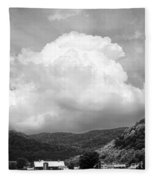 Tunbridge Vermont Storm Cloud Open Edition Fleece Blanket